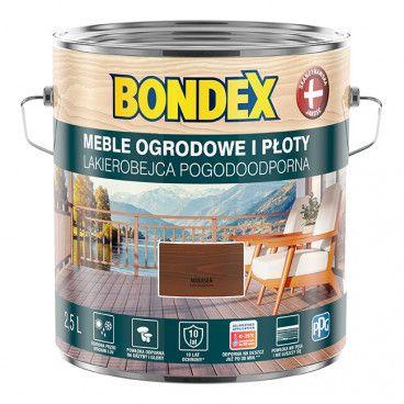 Lakierobejca do drewna Bondex Pogodoodporna makasar 2,5 l