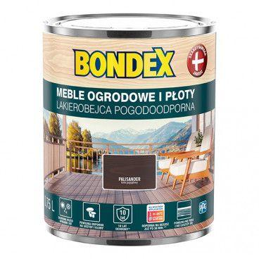 Lakierobejca do drewna Bondex Pogodoodporna palisander 0,75 l