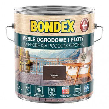 Lakierobejca do drewna Bondex Pogodoodporna palisander 2,5 l