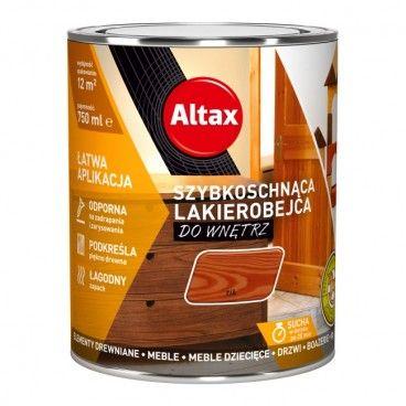 Lakierobejca szybkoschnąca do wnętrz Altax tik 0,75 l
