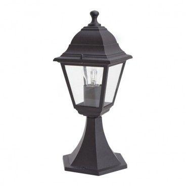 Lampa ogrodowa Blooma Varennes S 1 x 60 W E27 czarna