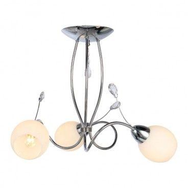Lampa wisząca Anika 3 x 40 W E14 chrom