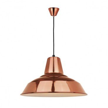 Lampa wisząca Colours Perigord 1 x 60 W E27 miedź