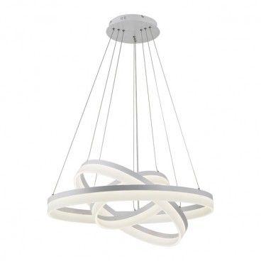 Lampa wisząca LED Cornelia 114 W biała