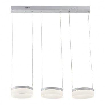 Lampa wisząca LED Nicki 3 x 12 W biała