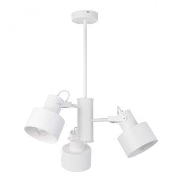 Lampa wisząca Metro 3 x 60 W E27 biała