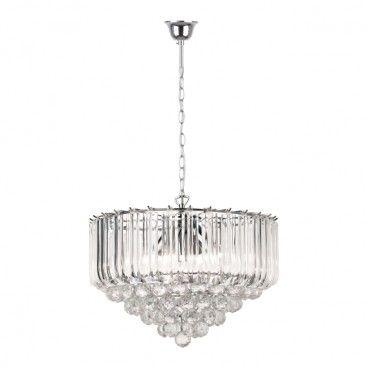 Lampa wisząca Utah 5 x 40 W E14 chrom