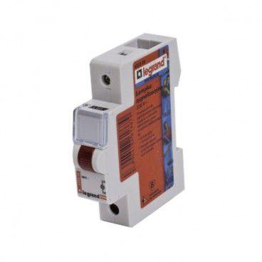 Lampka sygnalizacyjna Legrand L311 230 V czerwona
