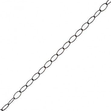 Łańcuch dekoracyjny Diall kwadratowy 2,2 mm x 1,5 m czarny