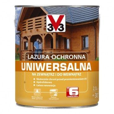 Lazura ochronna V33 6 lat drewno egzotyczne 2,5 l