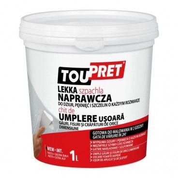 Lekka szpachla naprawcza Toupret  1 kg