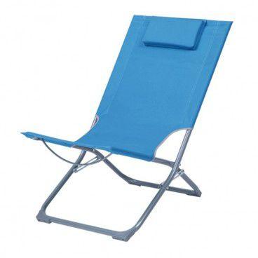 Leżak Curacao niebieski
