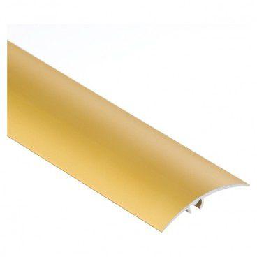 Listwa wciskana aluminiowa Cezar 50 mm 1 m złota