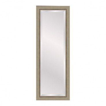 Lustro prostokątne Bright 35 x 120 cm w ramie złote