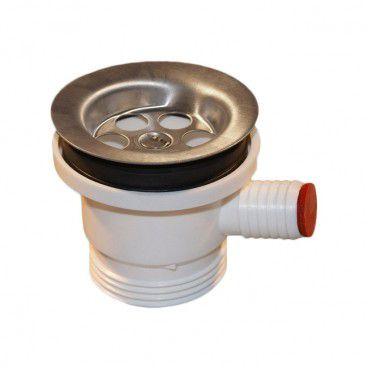 Montaż syfon do zlewozmywaka i pralki z sitkiem metalowy