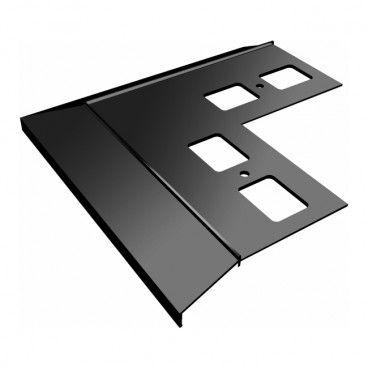 Narożnik zewnętrzny Renoplast 100/90 grafitowy