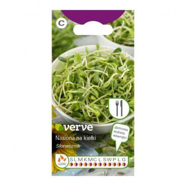 Nasiona kiełki słonecznika Verve