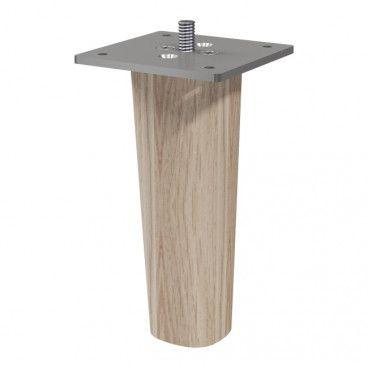 Nóżki drewniane GoodHome Atomia 11 cm 2 szt.