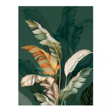 Obraz Canvas Botanic Green 60 x 80 cm