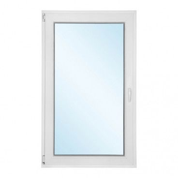Okno PCV rozwierno - uchylne 865 x 1435 mm lewe