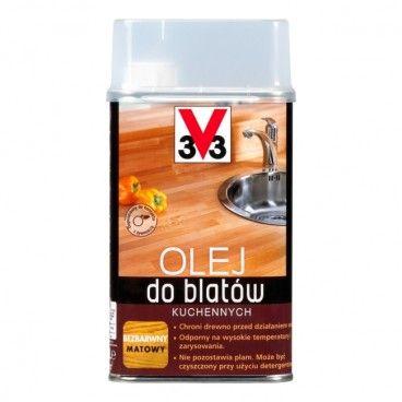 Olej do blatów kuchennych V33 bezbarwny 0,5 l
