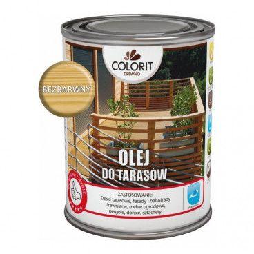 Olej do tarasów Colorit Drewno bezbarwny 0,75 l