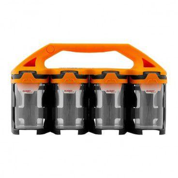 Organizer Questsystem Q2 x 8 pomarańczowy