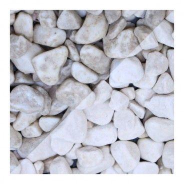 Otoczak Blooma Carrara 15-25 mm 20 kg biały