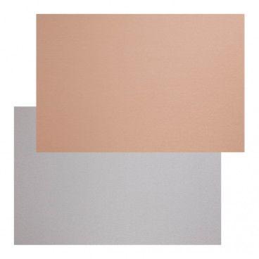 Panel przyblatowy laminowany Kasei 0,3 x 60 x 200 cm miedź / inox