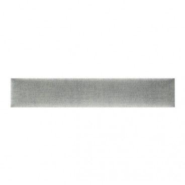 Panel ścienny tapicerowany Stegu Mollis prostokąt 90 x 15 cm antracytowy
