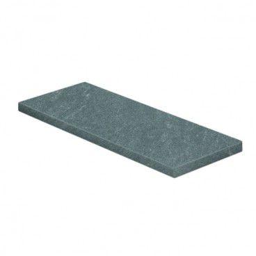 Parapet wewnętrzny Silver Stone 182 x 30 x 2 cm