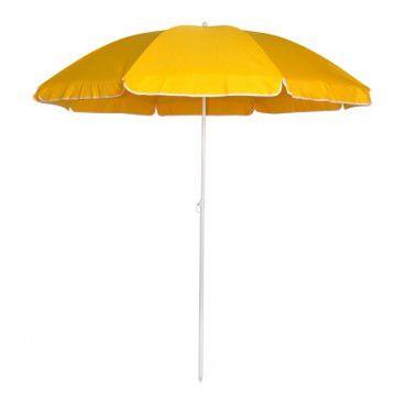 Parasol plażowy Curacao 180 cm żółty