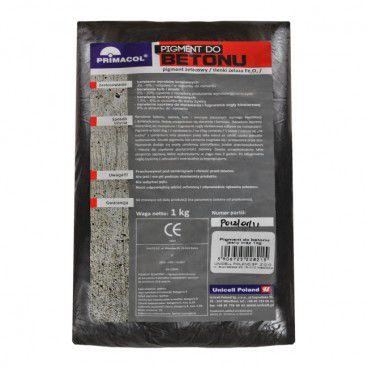 Pigment do betonu Primacol czarny 1 kg