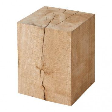 Pniak kwadratowy 250 x 250 x 30 mm dąb