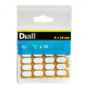 Podkładki piankowe Diall 8 x 16 mm 20 szt.