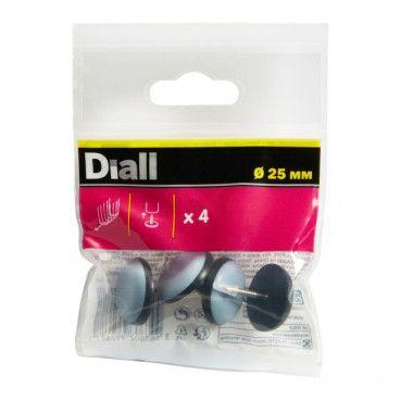 Podkładki wbijane Diall teflonowe 25 mm 4 szt.