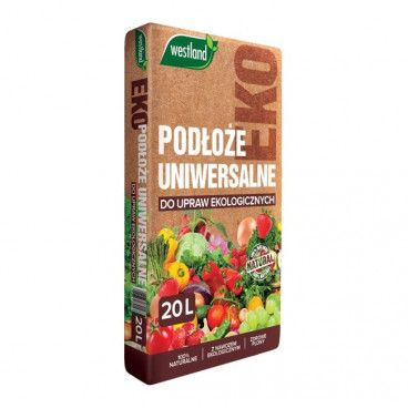 Podłoże uniwersalne do upraw ekologicznych 20 l