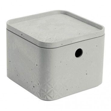 Pojemnik Curver Beton XS z pokrywą