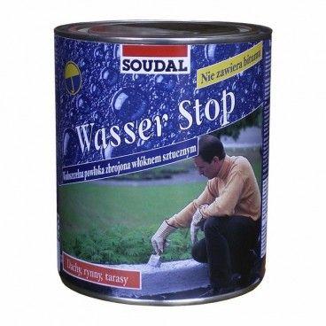 Powłoka do impregnacji dachów Soudal Wasser Stop 750 g