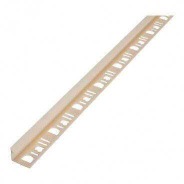 Profil PCV narożny Diall 9 mm wewnętrzny kość słoniowa 2,5 m
