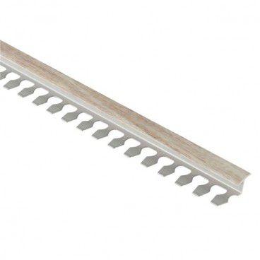 Profil T gięty GoodHome 85 x 2500 mm szare drewno
