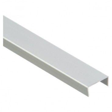 Profil U Cezar aluminiowy anodowany Cezar 20 x 10 x 1,5 mm 1 m