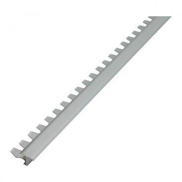 Profil aluminiowy dylatacyjny Diall do łuków srebrny mat 2,5 m