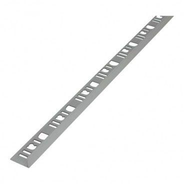 Profil aluminiowy narożny Diall 12,5 mm typ L srebrny mat 2,5 m