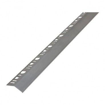 Profil aluminiowy okapowy Diall surowe aluminium 2,5 m