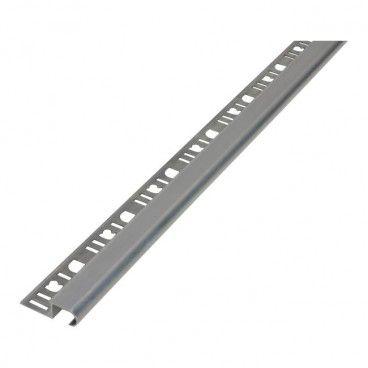 Profil aluminiowy schodowy Diall owalny surowe aluminium 2,5 m