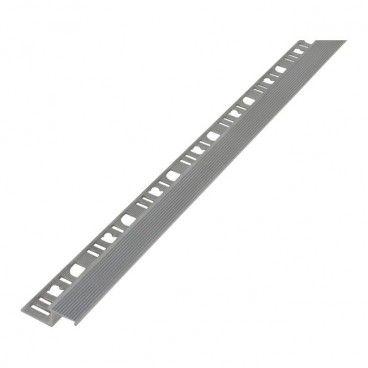 Profil aluminiowy schodowy Diall prosty surowe aluminium 2,5 m