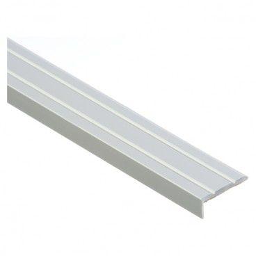Profil schodowy Cezar 25 x 10 mm 1 m aluminium srebrne