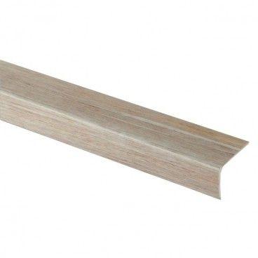 Profil schodowy GoodHome 35 x 25 x 1200 mm szare drewno