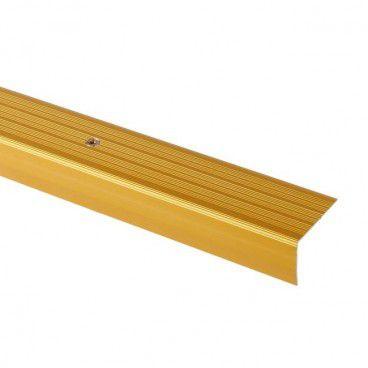 Profil schodowy GoodHome 40 x 25 x 900 mm złoty